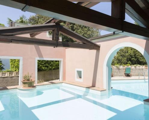 Volognano • la piscina