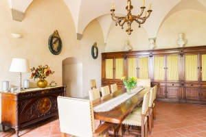 Volognano • the dining room