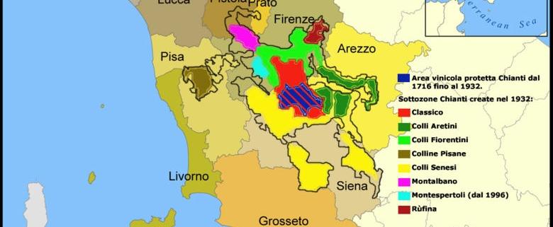 mappa Toscana