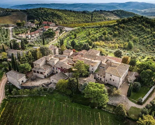 Best wineries in Tuscany - Castello di ama