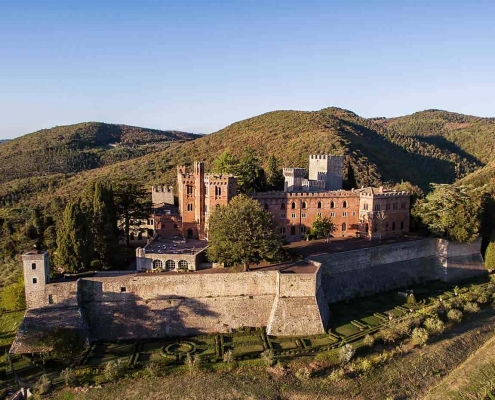 best wineries in Tuscany - barone ricasoli