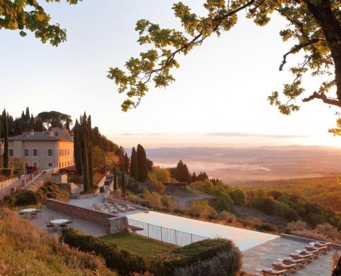 best wineries in tuscany - castiglion del bosco