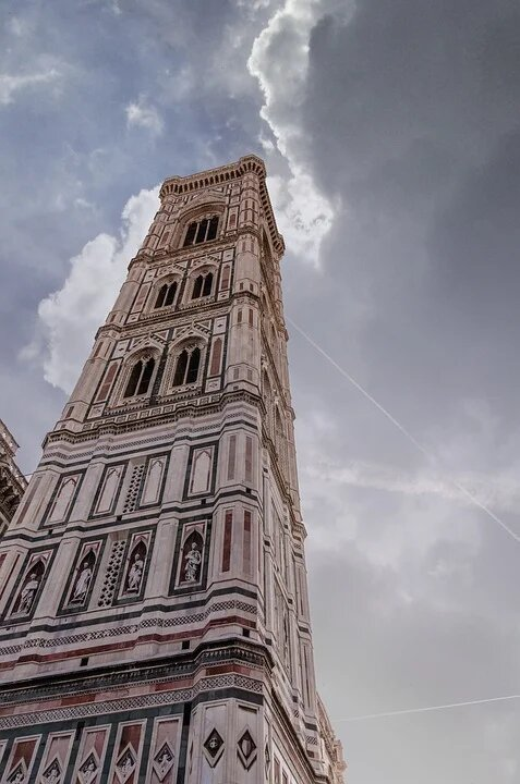 Giotto's Bell Tower- best monuments in Tuscany