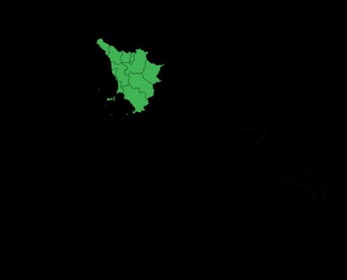 Dov'è la Toscana in Italia