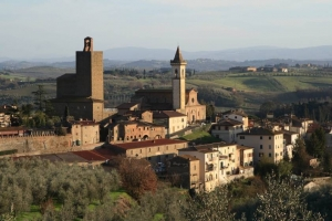 tuscany towns near firenze