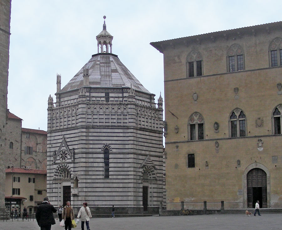 Battistero San Giovanni in Corte Pistoia