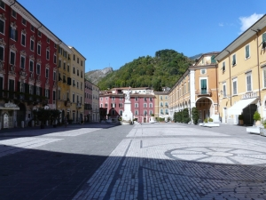 Carrara historic center