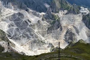 Marble quarries Carrara