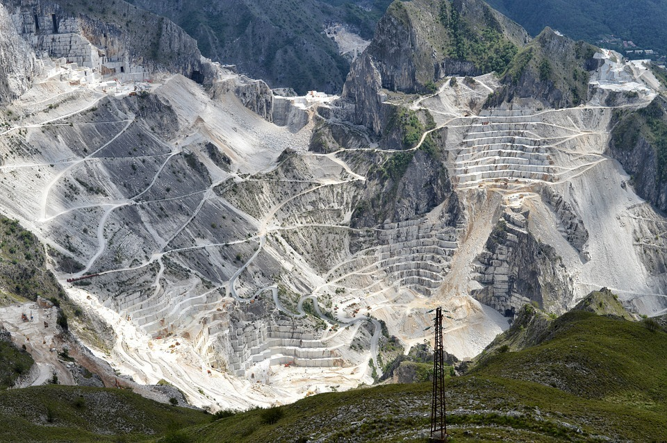 Marble quarries Carrara