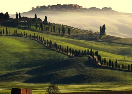 Da Roma alla Toscana