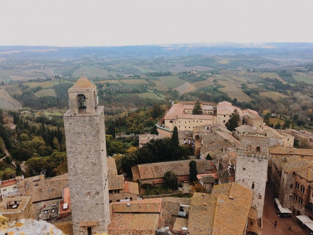Da Siena a firenze: San Gimignano