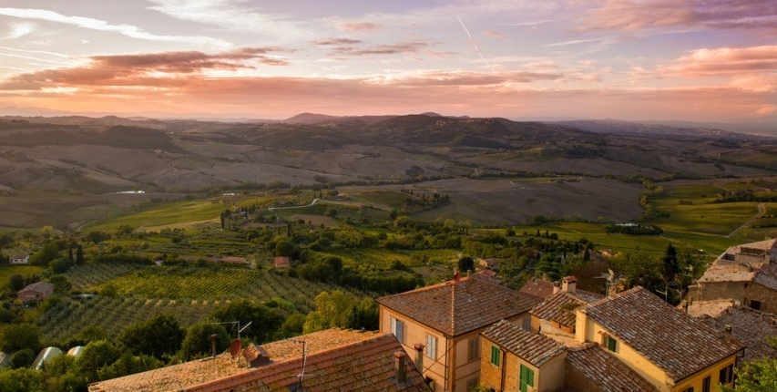 from florence to montepulciano