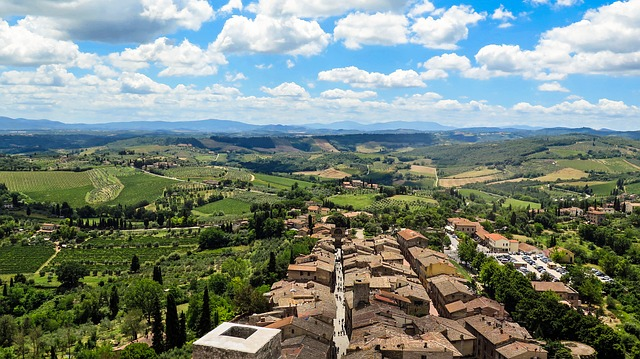 from florence to san gimignano