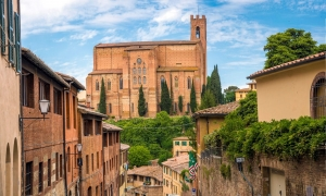 Da Siena a firenze: Siena