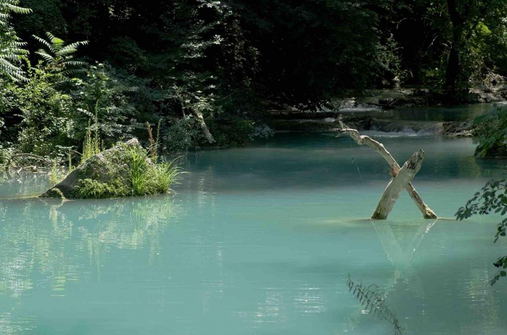 cascata di diborrato - Immagini toscana