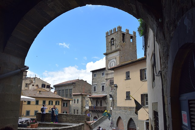 Cortona - Tuscany points of interest