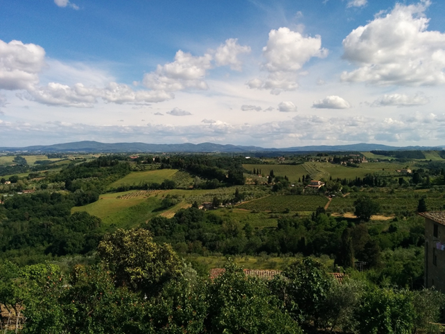 Treno Roma - Toscana: Chianti