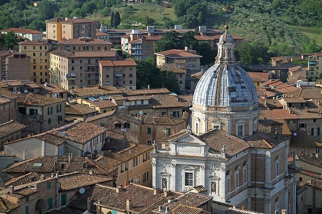 Siena - Punti di interesse della Toscana