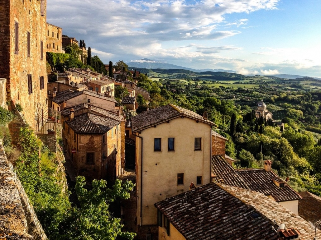 Tuscan Countryside: Montepulciano