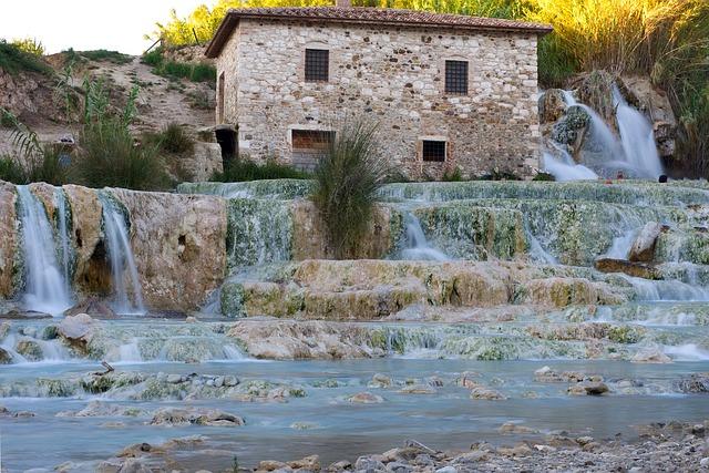Cascate del Mulino - Punti di interesse della Toscana