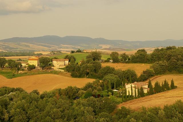 Colline toscane - Punti di interesse della Toscana