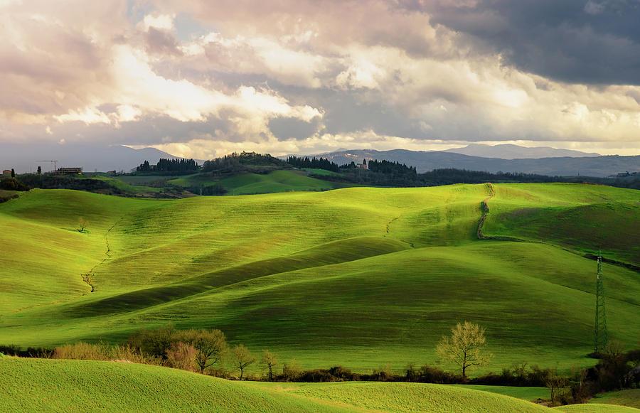 Tuscany drive-siena