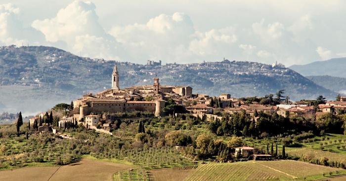 Tuscany drive-pienza