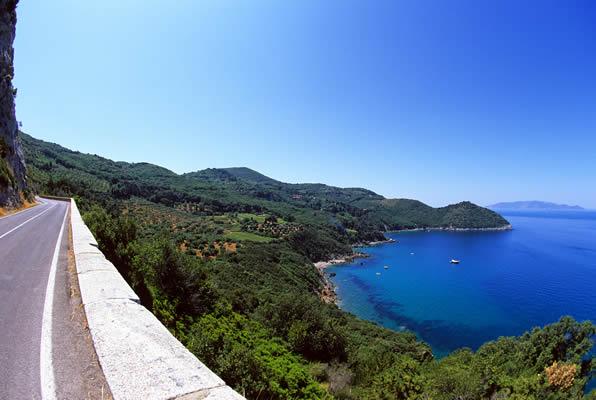 Tuscany drive-Coast