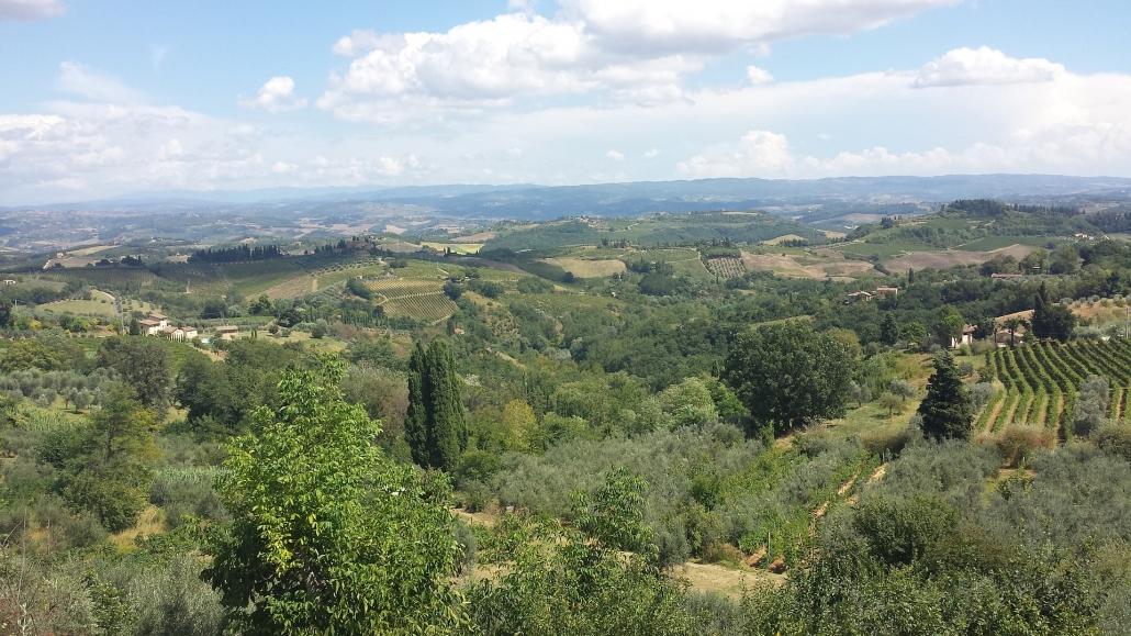 tuscany landscape - venice to tuscany
