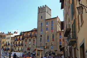 Where is Florence: Arezzo