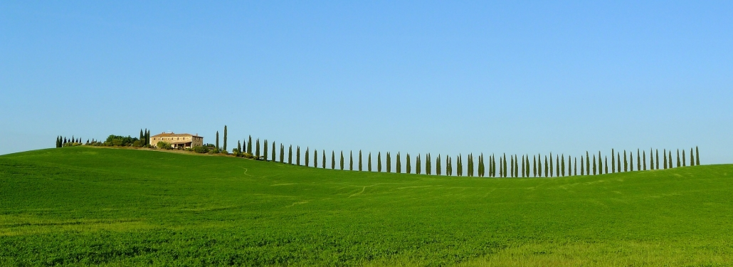 Tipic tuscany countryside