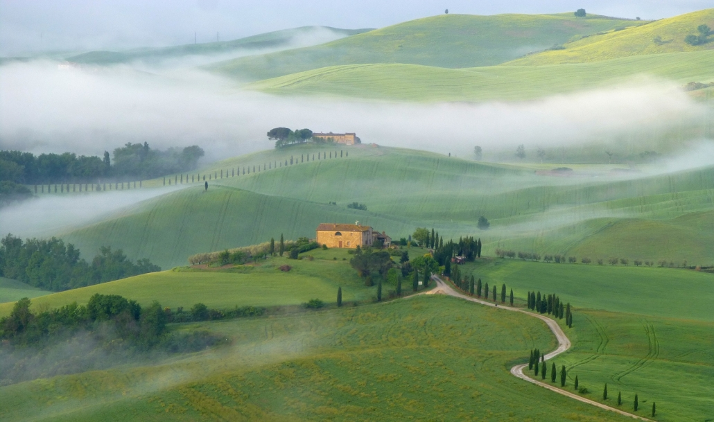 Val D'Orcia's view